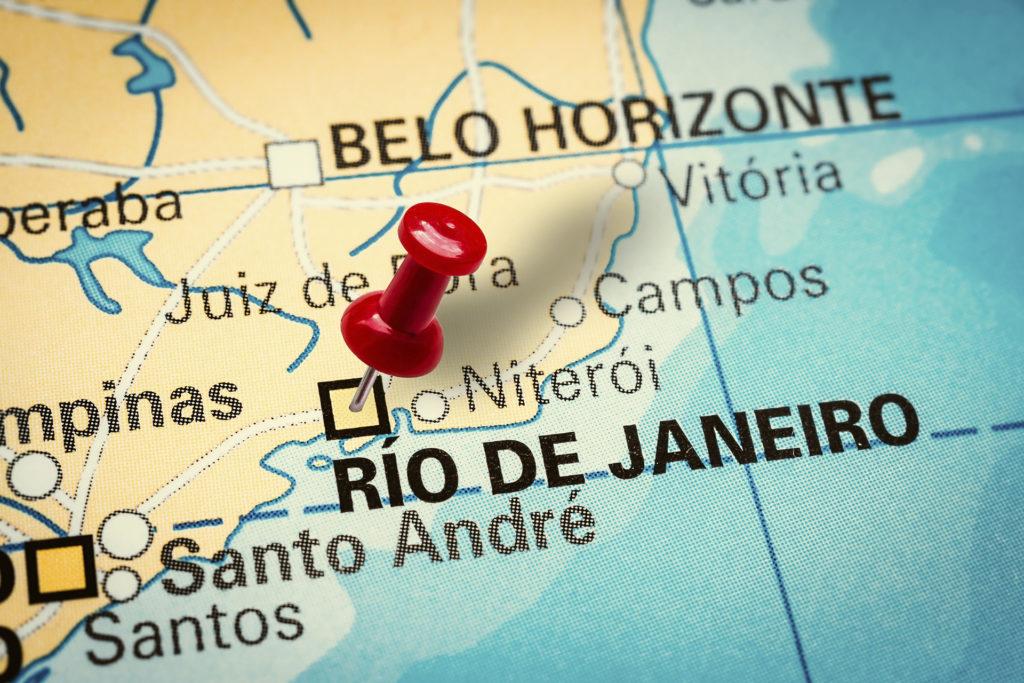 mapa do brasil região sudeste